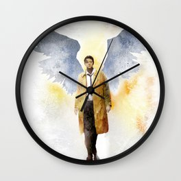 Castiel Light Version Wall Clock