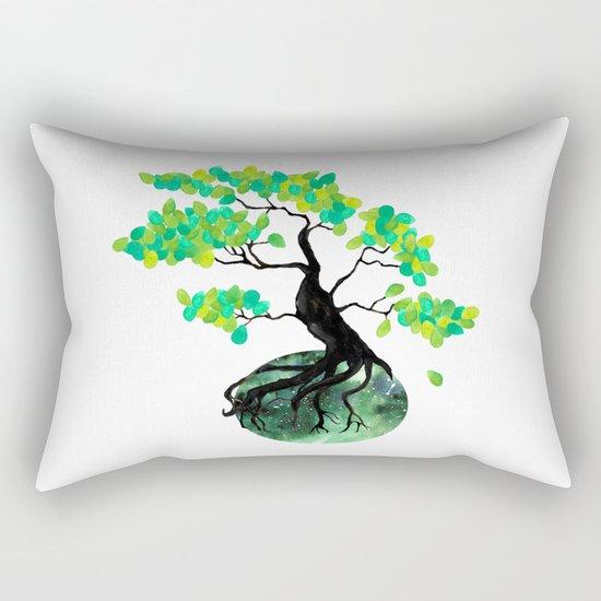 Organic Bonsai Rectangular Pillow