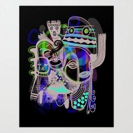 """""""Haunt You"""" Art Print"""