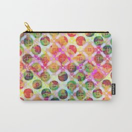 Rainbow Geometric Party Carry-All Pouch