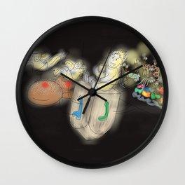 Hanukkah Fun Wall Clock