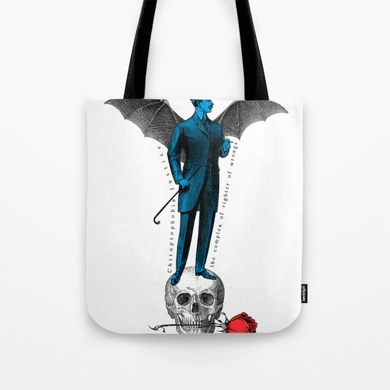 the complex of righter of wrongs Tote Bag