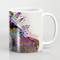 funky Mugs featuring Ohkwari  by Kris Tate