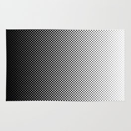 Halftone Gradient Rug