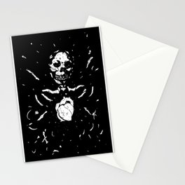 Worship the dark III Stationery Cards