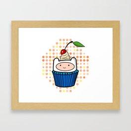 Finn the Cupcake Framed Art Print