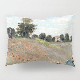 1873-Claude monet-Poppy Field-50 x 65 Pillow Sham