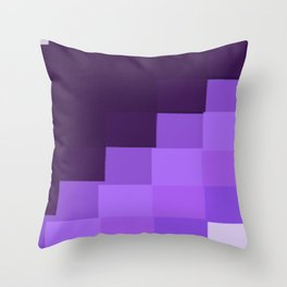 color purple 9 Throw Pillow