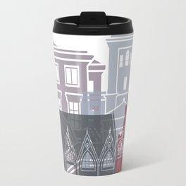 Gothenburg skyline poster Travel Mug