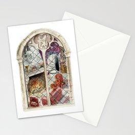 Wizard Window of Bravery Stationery Cards