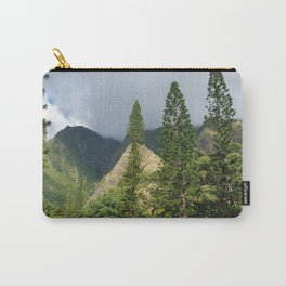 Hawaii Mountain and Forest Carry-All Pouch