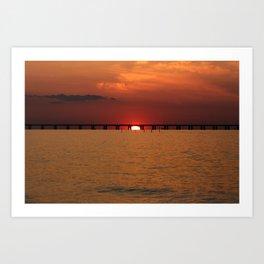 Chesapeake Bay Sunset Art Print