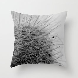 Prickly Pineapple Succulent Throw Pillow