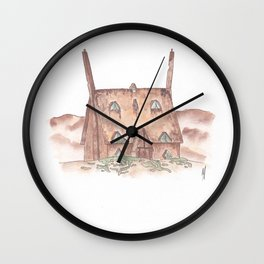 The Shell Cottage Wall Clock