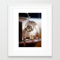 silver Framed Art Prints featuring Silver by Lia Bernini