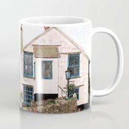 Mousehole Fishermans' Cottages UK Coffee Mug