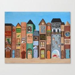 Wee Folk Lane Canvas Print