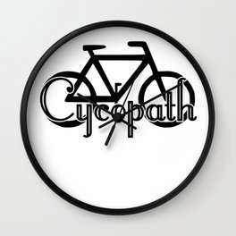 Cycopath Wall Clock