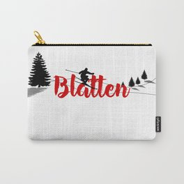Ski at Blatten Carry-All Pouch