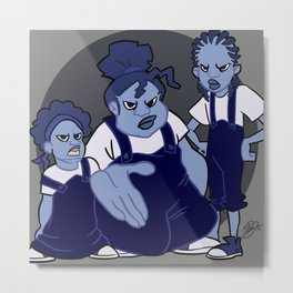 The Gross Sisters Metal Print