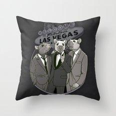 Rat Pack Throw Pillow