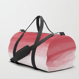 Red abstract brush strokes pattern Duffle Bag