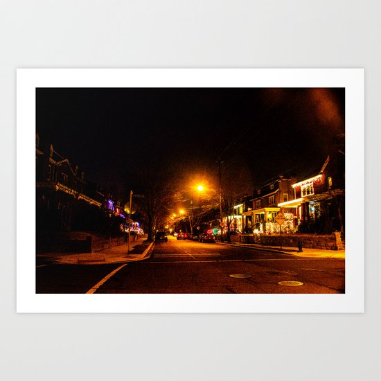 Keeping up with the Joneses Art Print