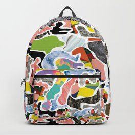 Eccentric Bits of Fragmented Happiness Backpack