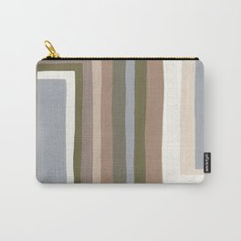 Abstract Neutrals III Carry-All Pouch