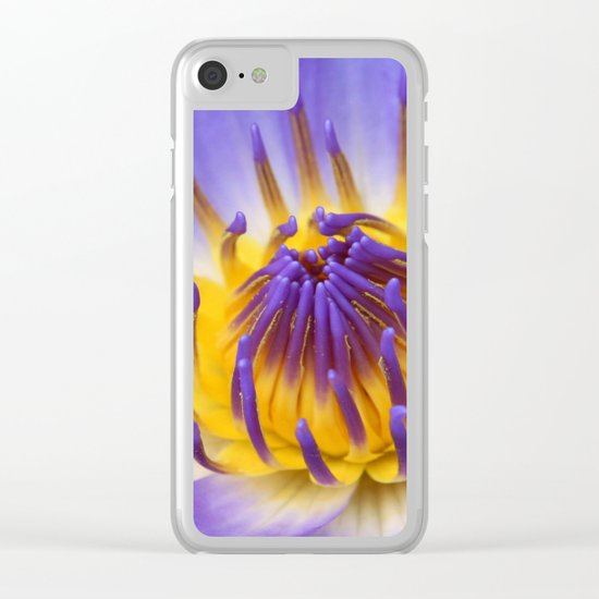 The Lotus Flower Clear iPhone Case