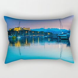 Port Vauban Antibes Rectangular Pillow