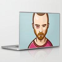 jesse pinkman Laptop & iPad Skins featuring Jesse Pinkman by Sherif Adel