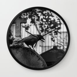 Quoth the Raven, Nevermore Wall Clock