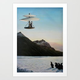 If Florentines Could Fly Art Print