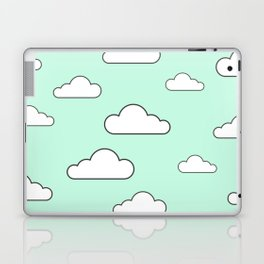 Minty Sky x Cloud Laptop & iPad Skin