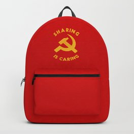 Sharing Is Caring Backpack