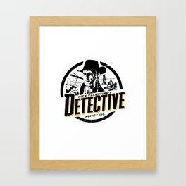 Nick Valentine - Detective Framed Art Print