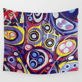 Chaos - acrylic painting Wall Tapestry