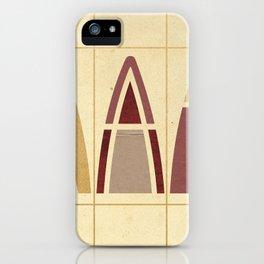 Wigwams iPhone Case
