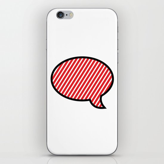 Empty Words  iPhone & iPod Skin