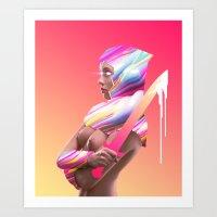 Acid Ranger Art Print