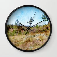 tennessee Wall Clocks featuring Tennessee Wilderness by Phil Perkins