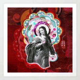 Maria (mãe de Jesus) Mary (mother of Jesus) #3 Art Print