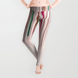 Rainbow Seeds Sprouts Circle of Life Flowers Leggings