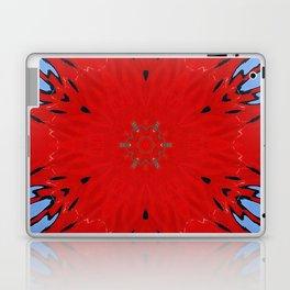 Fire Water Kaleidscope Laptop & iPad Skin