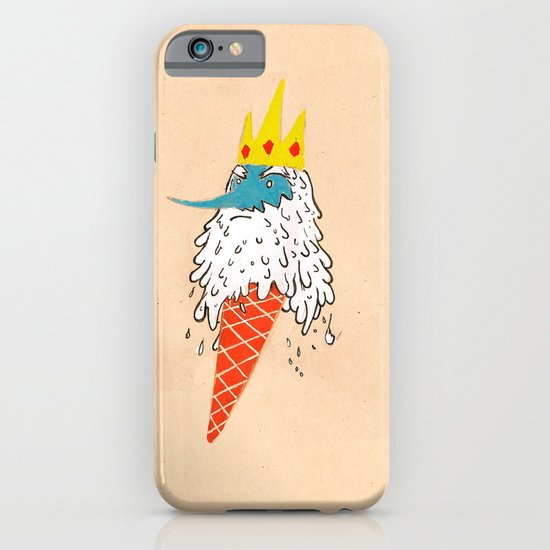 Ice king as an ice cream  iPhone & iPod Case