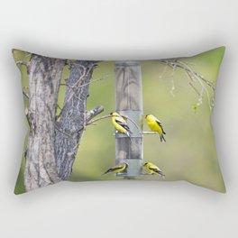 American Goldfinch 3 Rectangular Pillow