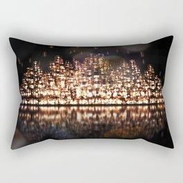 The City of Forgotten Lights Rectangular Pillow