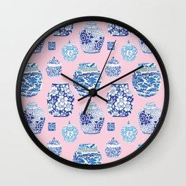 Chinoiserie Ginger Jar Collection No.7 Wall Clock