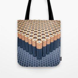 Batteries Tote Bag
